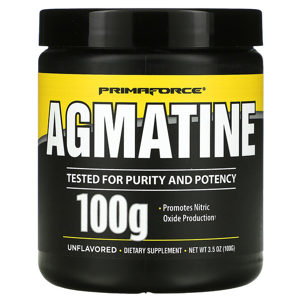 Agmatine, Unflavored, 100 g, 3.5 oz (100 g)