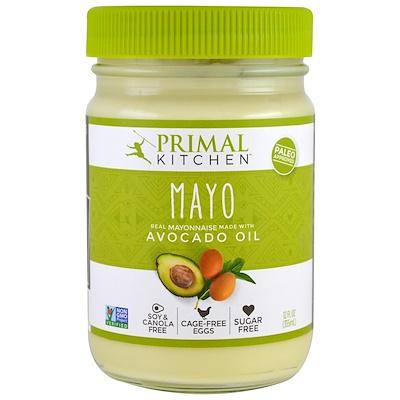Купить Майонез с маслом авокадо, 355 мл (12 жидких унций)