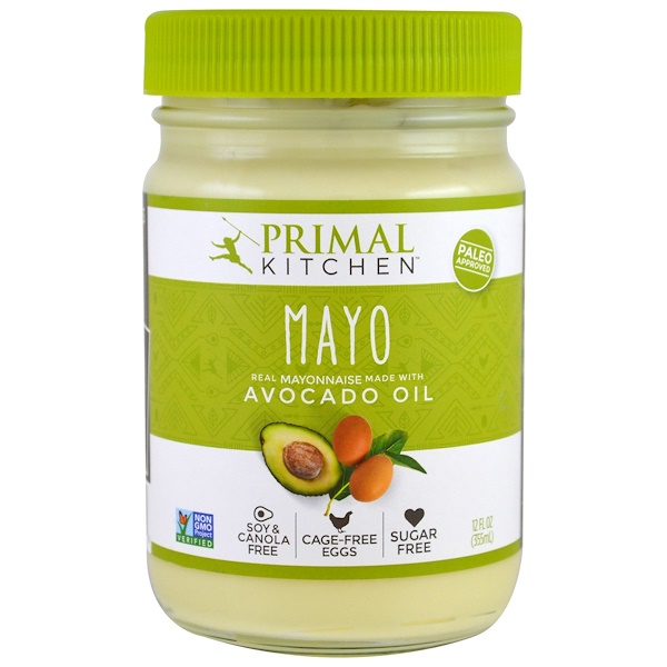 Mayonnaise with Avocado Oil, 12 fl oz (355 ml)