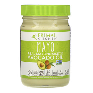 Примал Китчэн, Mayonnaise with Avocado Oil, 12 fl oz (355 ml) отзывы