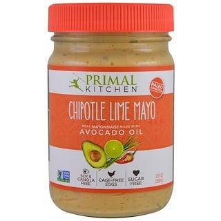 Primal Kitchen, アボカドオイル入りマヨネーズ、チポトレ・ライム、12 液量オンス (355 ml)