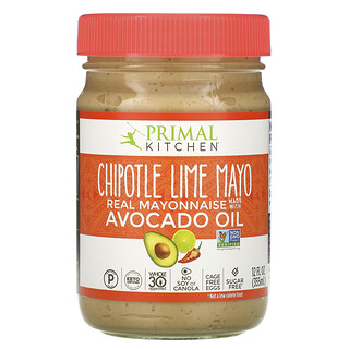 Primal Kitchen,  Chipotle Lime Mayonnaise with Avocado Oil, 12 fl oz (355 ml)