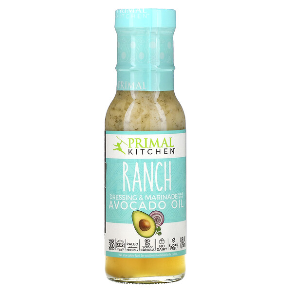 Ranch Dressing & Marinade Made with Avocado Oil, 8 fl oz (236 ml)