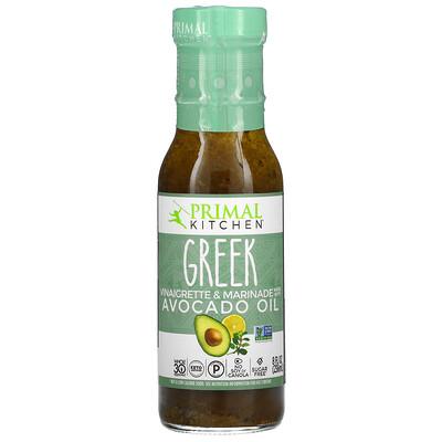 Купить Primal Kitchen Greek Vinaigrette & Marinade Made with Avocado Oil, 8 fl oz (236 ml)