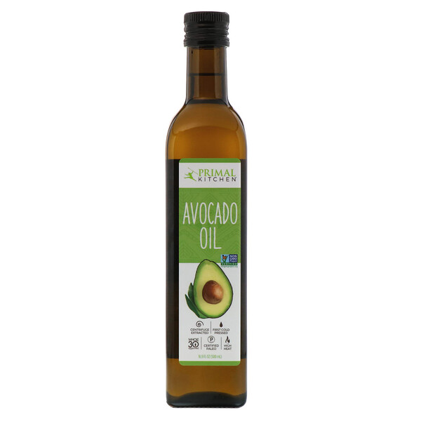 "Primal Kitchen, שמן אבוקדו, 16.9 fl oz (500 מ""ל)"