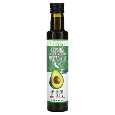 Купить Primal Kitchen California Extra Virgin Avocado Oil, 8.45 fl oz (250 ml)