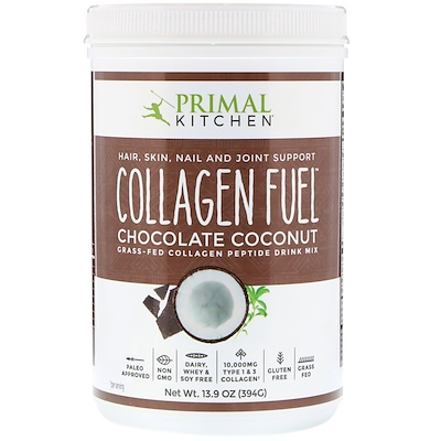 Collagen Fuel, Grass-Fed Peptide Drink Mix, Chocolate Coconut, 13.9 oz (394 g)