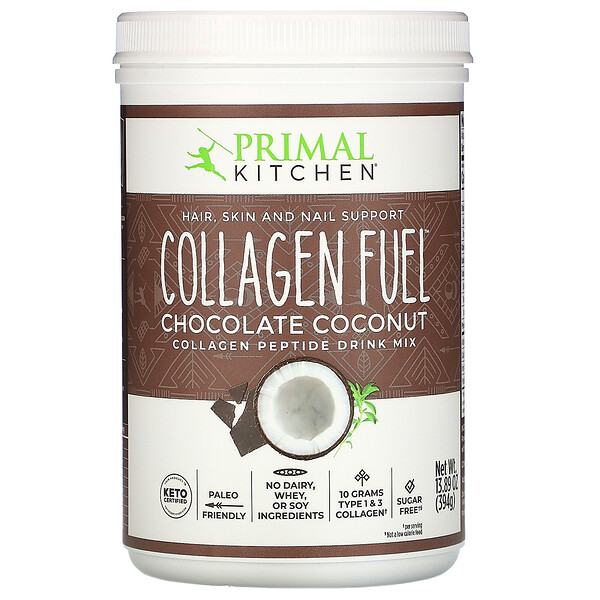 Collagen Fuel, Chocolate Coconut, 13.89 oz (394 g)