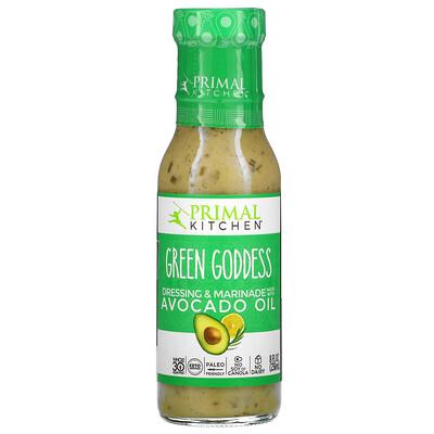 Купить Primal Kitchen Green Goddess Dressing & Marinade Made with Avocado Oil, 8 fl oz (236 ml)