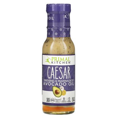 Купить Primal Kitchen заправка и маринад для салата «Цезарь», сделанный с маслом авокадо, 236мл (8жидк. унций)