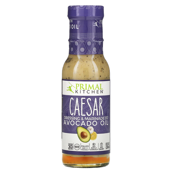 Primal Kitchen, Caesar Dressing & Marinade Made with Avocado Oil, 8 fl oz (236 ml)
