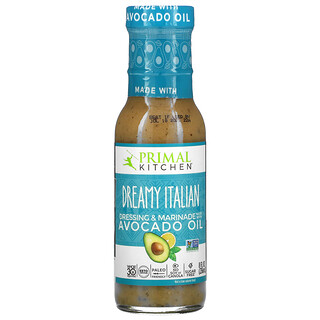 Primal Kitchen, Dreamy Italian Dressing & Marinade Made with Avocado Oil, 8 fl oz (236 ml)