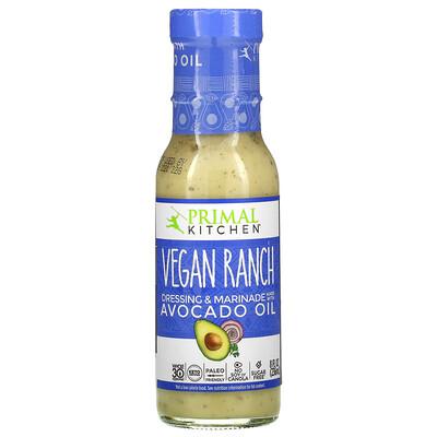 Primal Kitchen Vegan Ranch Dressing & Marinade Made with Avocado Oil, 8 fl oz (236 ml)