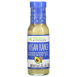 Primal Kitchen, Vegan Ranch Dressing & Marinade Made with Avocado Oil, 8 fl oz (236 ml)