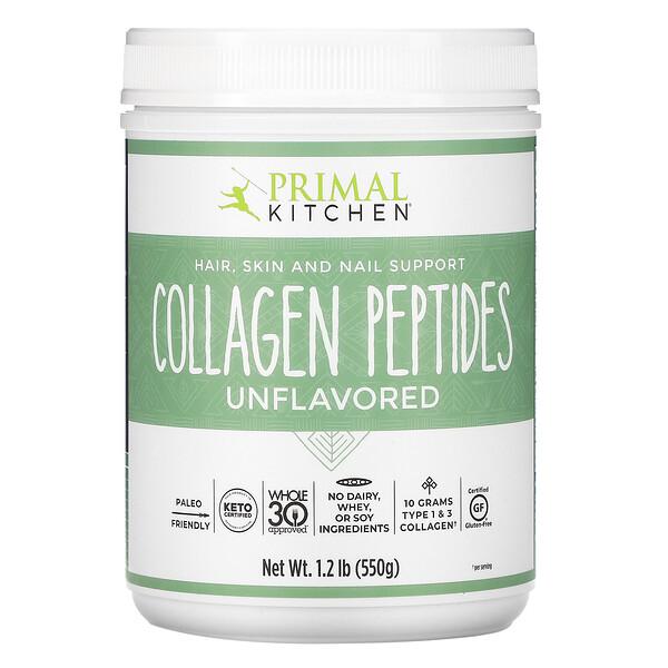 Collagen Peptides, Unflavored , 1.2 lb (550 g)