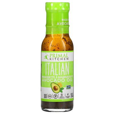 Купить Primal Kitchen Italian Vinaigrette & Marinade Made With Avocado Oil, 8 fl oz (236 ml)