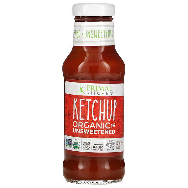 Organic Ketchup, Unsweetened, 11.3 oz (320 g)