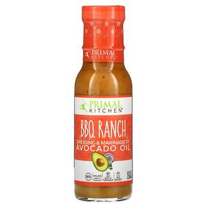 Primal Kitchen, BBQ Ranch Dressing & Marinade Made with Avocado Oil, 8 fl oz ( 236 ml)