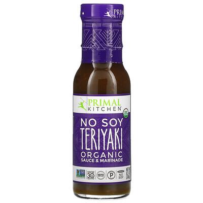 Primal Kitchen Organic No Soy Teriyaki Sauce & Marinade, 8.5 oz (241 g)
