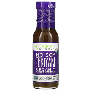Primal Kitchen, Organic No Soy Teriyaki Sauce & Marinade, 8.5 oz (241 g)