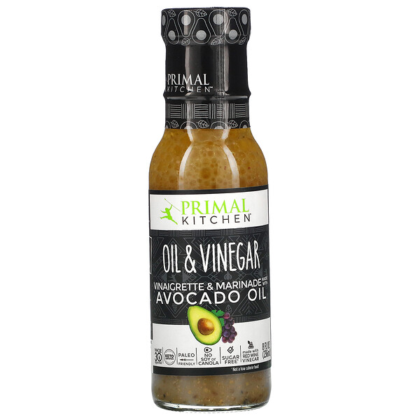 Oil & Vinegar, Vinaigrette & Marinade Made With Avocado Oil, 8 fl oz (236 ml)