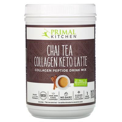 Купить Primal Kitchen Collagen Keto Latte, Chai Tea, 8.55 oz (242.4 g)
