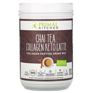 Primal Kitchen, Collagen Keto Latte, Chai Tea, 8.55 oz (242.4 g)'