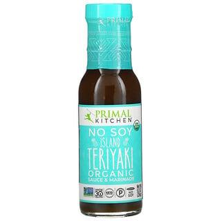 Primal Kitchen, Organic No Soy Sauce & Marinade, Island Teriyaki, 9.0 oz (256 g)
