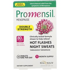 Promensil, Menopause, Double Strength, 30 Tablets