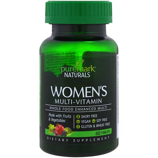 PureMark Naturals, 女性綜合維生素片,60 片
