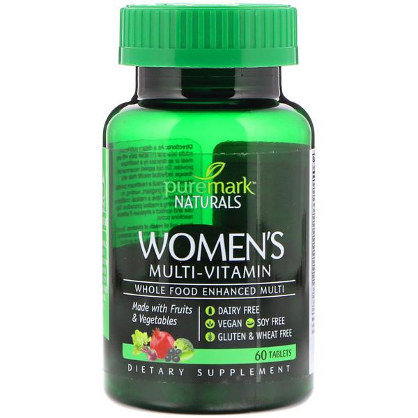 Women's Multi-Vitamin, 60 Tablets