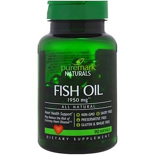 PureMark Naturals, Fish Oil, 1950 mg, 90 Softgels