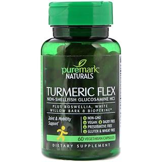PureMark Naturals, Turmeric Flex, 60 Vegetarian Capsules
