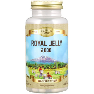 Premier One, Royal Jelly 2,000, 30 Capsules