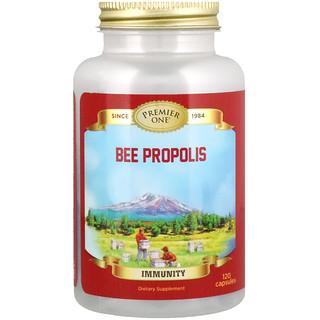 Premier One, Bee Propolis, 120 Capsules