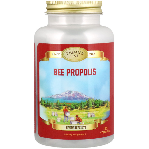 Premier One, Bee Propolis, 120 Capsules (Discontinued Item)