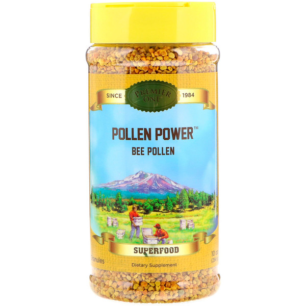 Premier One, Pollen Power, Bee Pollen Granules, 10 oz (284 g) (Discontinued Item)