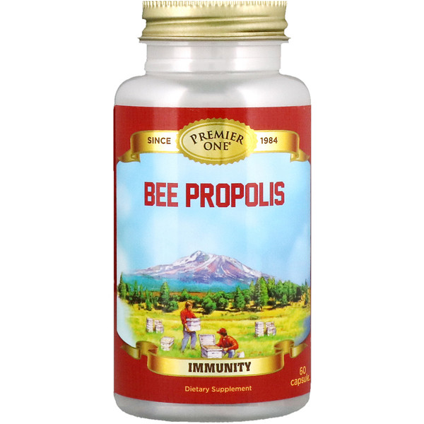 Premier One, Bee Propolis, 60 Capsules (Discontinued Item)