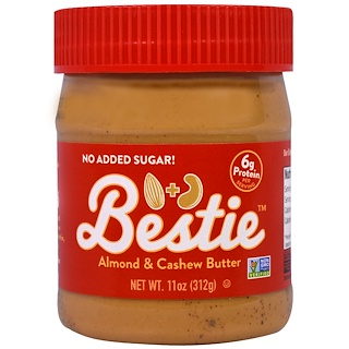 Peanut Butter & Co., Bestie, Almond & Cashew Butter , 11 oz (312 g)