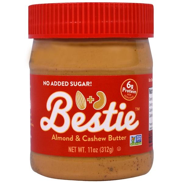 Peanut Butter & Co、, 好朋友,杏仁和腰果黃油,11盎司(312克)