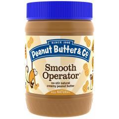 Peanut Butter & Co., Smooth Operator, Creamy Peanut Butter, 16 oz (454 g)