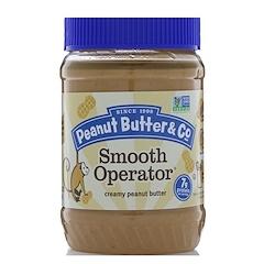 Peanut Butter & Co., Smooth Operator زبدة الفستق الكريمية، 16 أونصة (454 ج)