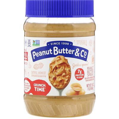 Купить Crunch Time, спред из арахисового масла, 16 унц. (454 г)