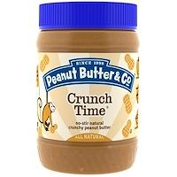 Peanut Butter & Co., 크런치 타임, 크런치 땅콩버터, 16oz (454g)
