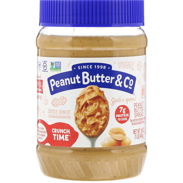Crunch Time, Peanut Butter Spread, 16 oz (454 g)