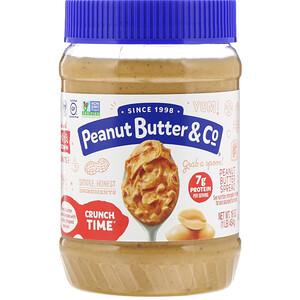 Пинат Баттэр энд Ко, Crunch Time, Peanut Butter Spread, 16 oz (454 g) отзывы покупателей