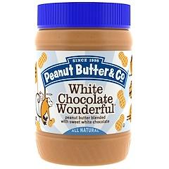 Peanut Butter & Co., White Chocolate Wonderful, Erdnussbutter mit süßer weißer Schokolade, 454 g