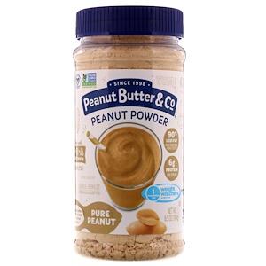 Пинат Баттэр энд Ко, Mighty Nut, Powdered Peanut Butter, Pure Peanut, 6.5 oz (184 g) отзывы покупателей