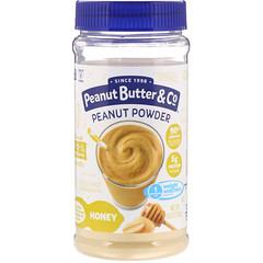 Peanut Butter & Co., Mighty Nut、粉末ピーナッツバター、ハニー、6.5 oz (184 g)