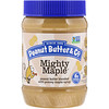 Peanut Butter & Co., Mighty Maple, Mantequilla de Maní Mezclada con Delicioso Jarabe de Maple, 16 oz (454 g)